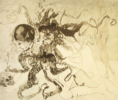 Salvador Dalí, 'Medusa', 1963