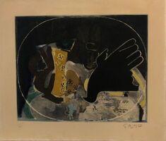 Georges Braque, 'Nature morte au pichet et oiseau ', ca. 1965