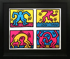 Keith Haring, 'POP SHOP QUAD II', 1988