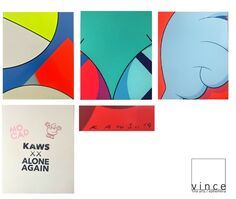 "KAWS, 'Set of 4, ""Alone Again"", 2019, Signed/Dated Editions for The Museum of Contemporary Art Detroit Exhibition May 8-2019.', 2019"
