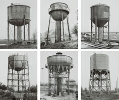 Bernd and Hilla Becher, 'Water Towers', 1968-1984