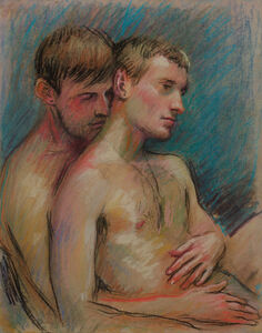 TM Davy, 'Two Lovers', 2019