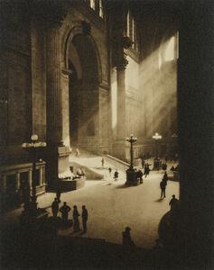 Dr. Drahomir Josef Ruzicka, 'Penn Station, New York', 1919-printed circa 1930