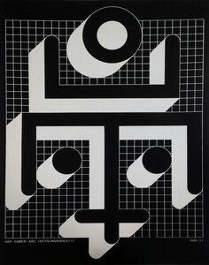 Bak Imre, 'SUN-HUMAN-FACE (Motif version I.) ', 1977