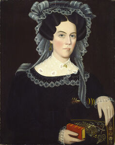 Ammi Phillips, 'Catherine A. May', ca. 1830