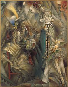 Jean Metzinger, 'Danseuse au cafe (Dancer in a Cafe)', 1912