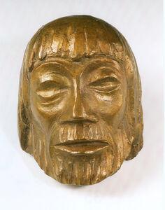 Ernst Barlach, 'Christ Mask VI', 1931