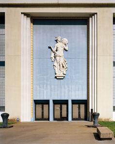 "Jade Doskow, ' San Francisco 1939 World's Fair, ""Golden Gate International Exposition,"" (Originally) Palace of Fine and Decorative Arts, Entrance', 2015"