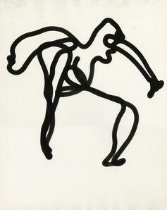 Gjon Mili, 'Picasso's Light Drawing', 1949/1970s
