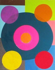 Ford Beckman, 'Modern Thoughts - Dark Blue Study', 2011