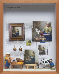 Elsa Zambrano, 'Vermeer's Milkmaid ', 2019
