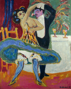 Ernst Ludwig Kirchner, 'Vaudeville Theatre', 1909/1926