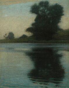 Lovell Birge Harrison, 'Silence', ca. 1890