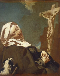 Giovanni Battista Piazzetta, 'Saint Margaret of Cortona', 1737