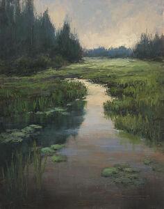 Jane Hunt, 'Lilies at Mud Lake', 2019