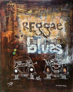 Diseye Tantua, 'No take your reggae, spoil my blues ', 2018