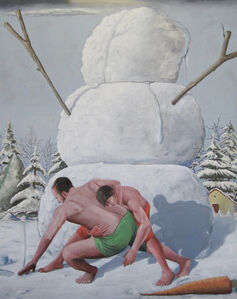 Tony Geiger, 'Impressing The Snowman', 2017