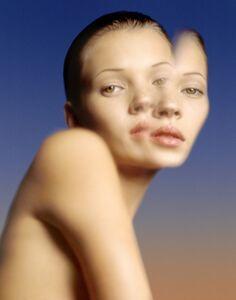 Albert Watson, 'Kate Moss, Water Reflection', 1993