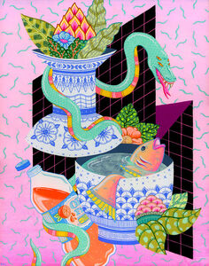 Kristen Liu-Wong, 'Still Life With Fish', 2016