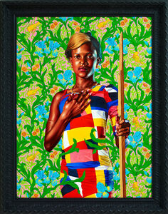 Kehinde Wiley, 'Saint John the Baptist in the Wilderness', 2013