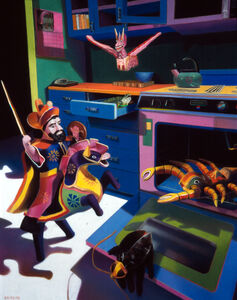 Barbara Rachko, 'The magical other', 1993