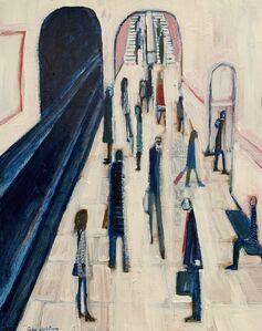 David Fawcett, 'Tube platform', Contemporary