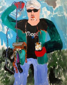 Huey Crowley, 'Uncle Jim magnet fishing', 2020