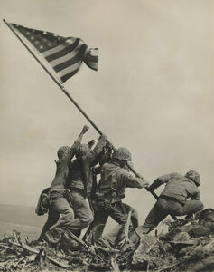 Joe Rosenthal, 'Raising The Flag On Iwo Jima', February 23-1945