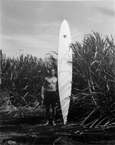 Patrick Cariou, 'Surfer With White Board'