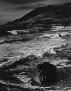 Morley Baer, 'Winter Surf, Garrapata, Sur Coast, 1966', 1966