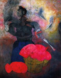 Rufino Tamayo, 'Homage to the Indian Race', 1952