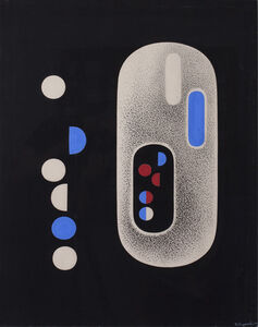 Richard Filipowski, 'Particle Red', 1948