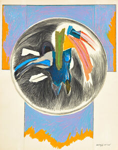 Sonia Gechtoff, 'Flag Icon', 1962-63