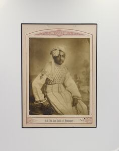 Raja Deen Dayal, 'The Jam Sahib Of Navanagar', ca. 1890