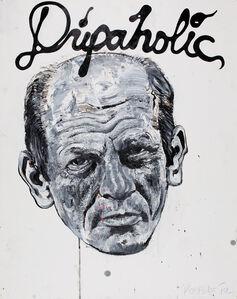 Robbie Conal, 'Jackson Pollack ~ Dripaholic', 2012
