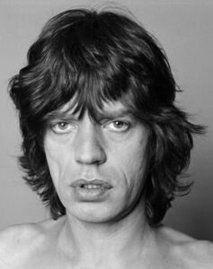 Marcia Resnick, 'Mick Jagger Portrait', 1970-1980