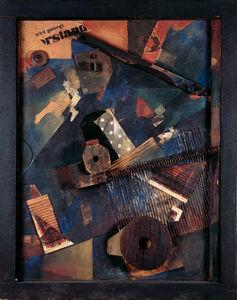 Kurt Schwitters, 'Ausgerenkte Kräfte (Dislocated Forces)'