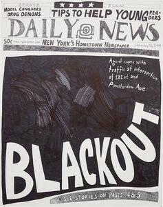 Aleksandra Mir, 'Blackout (7 July 1999)', 2007