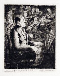 Peggy Bacon, 'Virtuoso', 1933