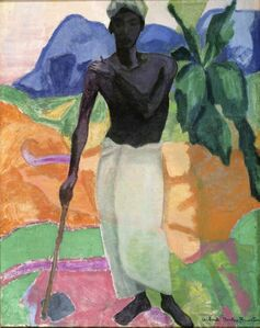 Achsah Barlow Brewster, 'Ceylon Workman', 1922-1923