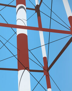 Allan D'Arcangelo, 'Watertower V', 1973