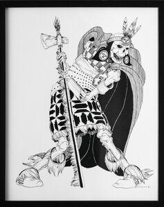 Kate Glasheen, 'Dead King 25 [15th Century Sapa Inca]', 2020