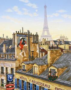 Liudmila Kondakova, 'Paris Morning (Rooftops of Paris)', 2000