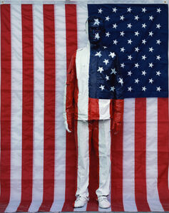 Liu Bolin, 'Hiding in the city - American Flag', 2007