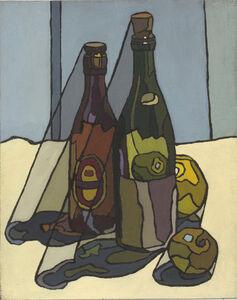 Cyril Mann, 'Still Life with Bottles', ca. 1955