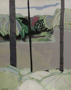 Gabriel Godard, 'Paysage', 1974