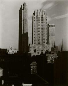 Alfred Stieglitz, 'New York, From The Shelton', 1935