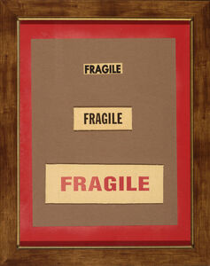 Jim Gemake, 'Fragile'