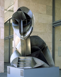 Naum Gabo, 'Constructed Head No. 2', 1916 (enlargement 1975)