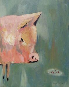 Irwan Guntarto, 'Pig', 2017
